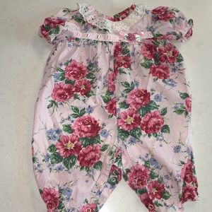 Other - 🌺Vintage cotton one piece 🌺